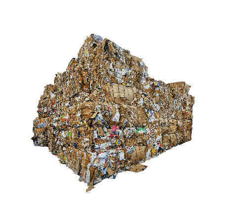 image of a big pile of stacked rubbish